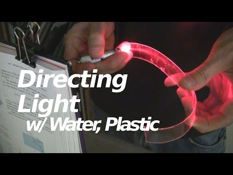 Directing Light with Water and Plastic - Science Short