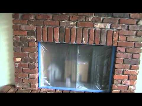 how to build a brick hearth