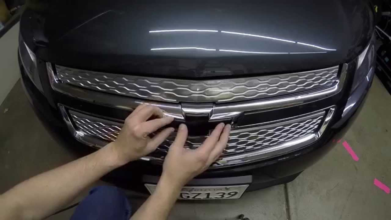 DeBadge a Chevy Volt with Nite Eyes - YouTube