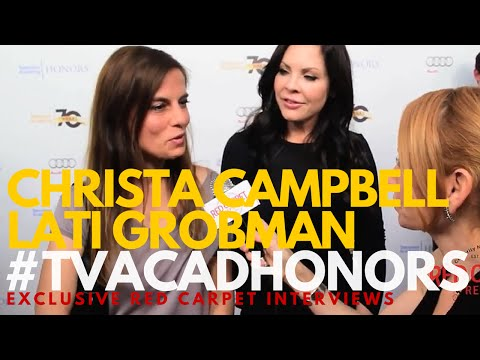Christa Campbell & Lati Grobman WinteronFire : 9th Television Academy Honors TVAcadHonors