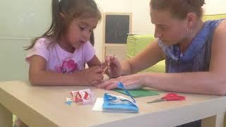 Бесплатное развитие для малышей, урок 29. Поделка