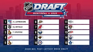 NHL 2020 MOCK DRAFT 3.0