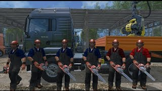 Farming Simulator 15 S16E1 Multiplayer - Gang Drwali