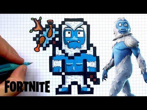 Full Download Pixel Art Fortnite