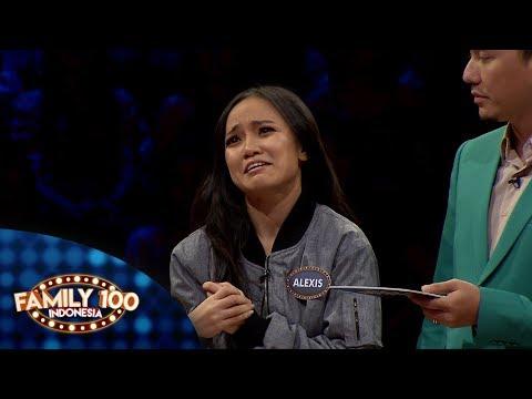 Apakah Alexis bisa menjawab semua pertanyaan dari Aa Omesh? - Family 100 Indonesia