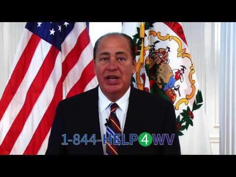 Governor Tomblin on HELP4WV