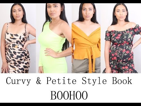 PETITE & CURVY FASHION HAUL FROM BOOHOO/ I WORE IT WRONG!!!