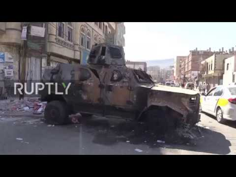 Yemen: Sanaa awakens to destruction after heavy airstrikes