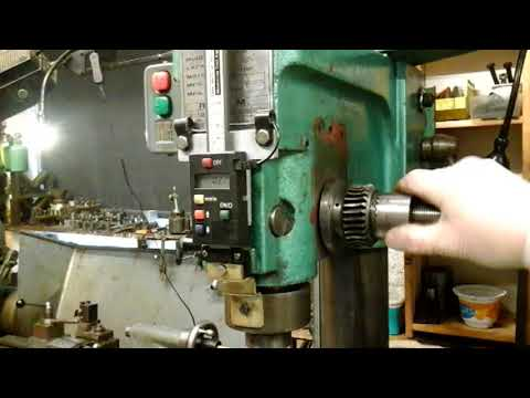 Milling Machine Z axis Quill Adjustment...