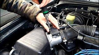 Toyota 3RZ-FE OBD1 codes 24 IAT sensor & 31 VAF sensor circuit MAF sensor cleaning