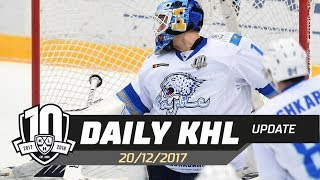 Daily KHL Update - December 20th, 2017 (English)