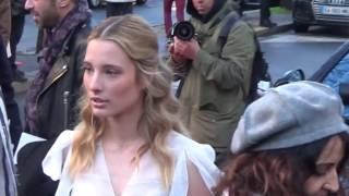 Ilona SMET @ Paris Fashion Week 5 march 2017 show John Galliano / mars #PFW