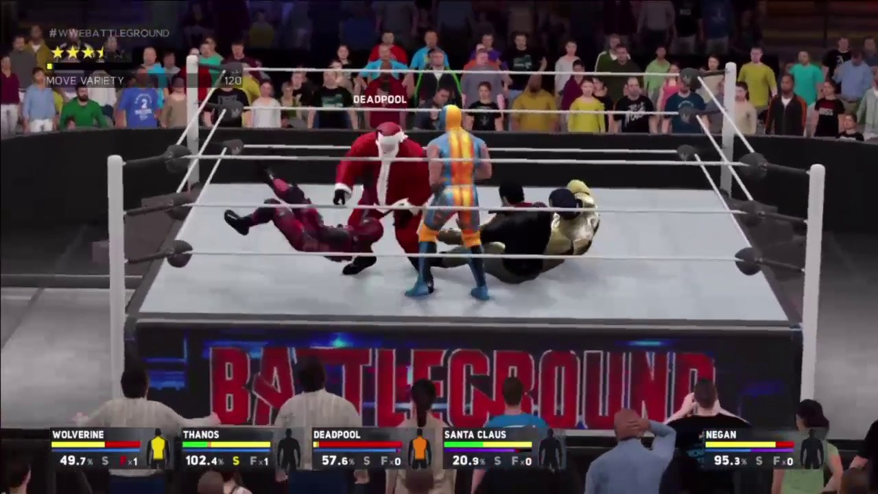 how to get 1 contender in wwe 2k17