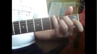 Романс Отговорила роща золотая  Аккорды на гитаре