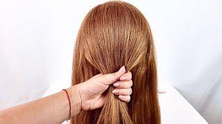 5 Легких причесок на длинные волосы Простые прически пошагово
