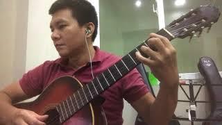 Trăng sáng nói hộ tình anh - Nhạc Hoa chuyển soạn Lê Hùng Phong - Solo guitar by Vũ Hà