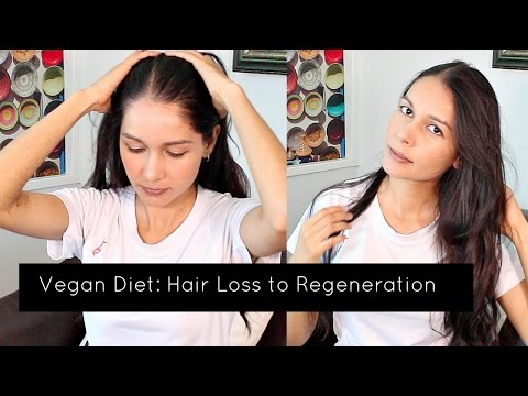 Vegan Diet: Hair Loss and Healthy Re-growth
