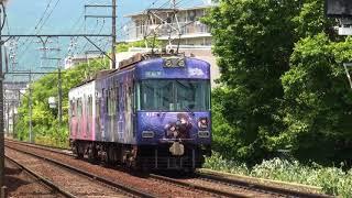 京阪600形609F(中二病でも恋がしたい!)京阪膳所~石場通過