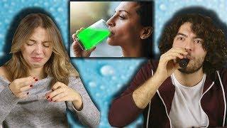Gençler Yemekte: SU (Siyah Su, Yenilebilir Su, Organik Su)
