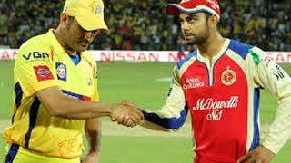 IPL 2015 Today Match CSK Vs RCB At 8:00pm