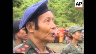 THAI/MYANMAR BORDER: KNU REBELS MARK DEATH OF SAWBA AUU KYI