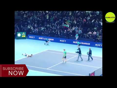 Match Point | Grigor Dimitrov wins the 2017 NittoATPFinals after beating David Goffin 7-5 4-6 6-3.