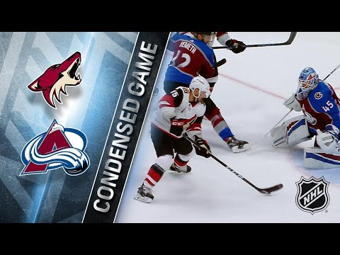 03/10/18 Condensed Game: Coyotes @ Avalanche