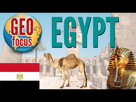 Focus on Egypt! Country Profile and Geographical Info