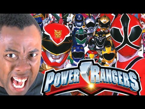 POWER RANGERS REUNION FAIL - Black Nerd RANTS