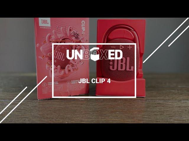 UNBOXED: JBL CLIP 4