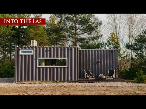 Into The Las- Shipping Container Boutique Houses in Poland