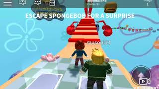 Sponge Bob Fuga! ROBLOX [EMILLY DOS SANTOS MENDON-A]