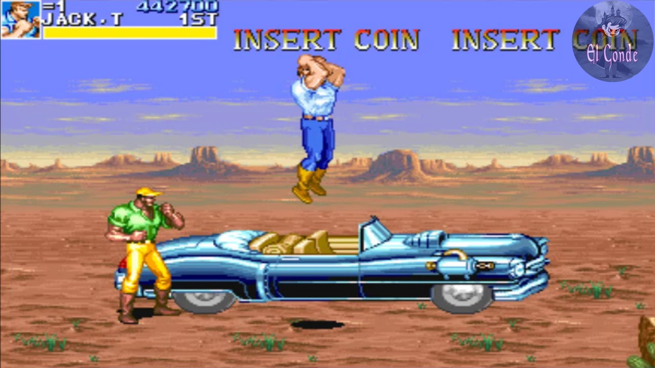 Cadillacs And Dinosaurs Juegos De Arcade Viejitos Gameplay