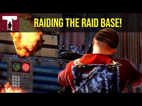 RAIDING THE RAIDBASE FOR EASY LOOT! (Rust) thumbnail