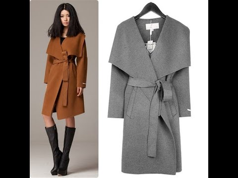 Как самой сшить пальто без швов Как сшить просто и быстро весенне-осеннее пальто