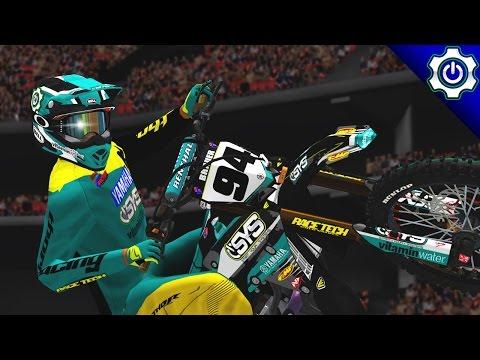 MX Simulator - Pro Qualifying with Kellen - Phoenix SX 2017