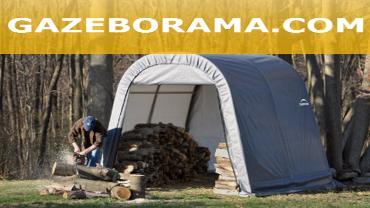 Large Portable Storage Shed Canopy Gazebo