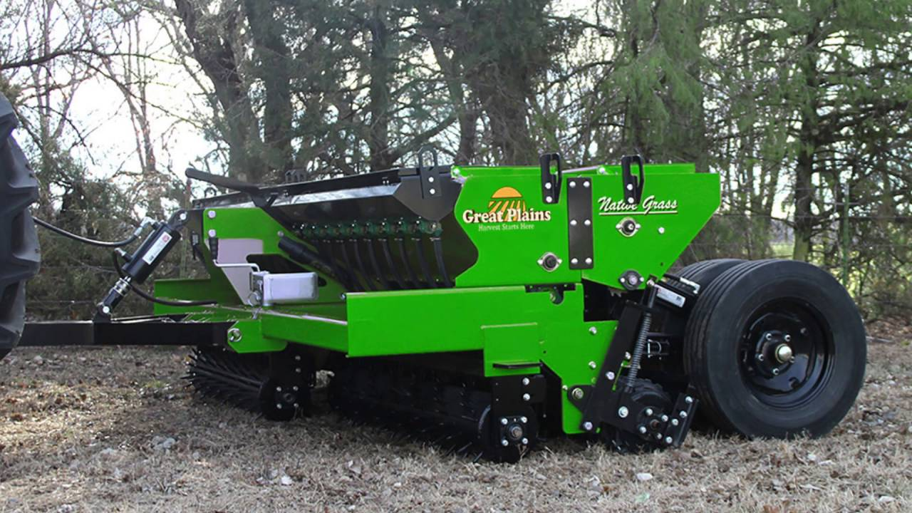 Great Plains Introduces Its Compact No Till Simple Seeder