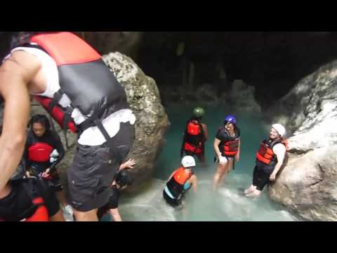 Kawasan Falls Canyoneering - Full Day - All the Way Down!