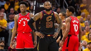 Cavs Sweep The Craptors! DeRozan Gets Ejected! 2018 NBA Playoffs