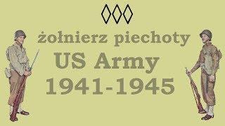 żołnierz piechoty US Army 1941-1945