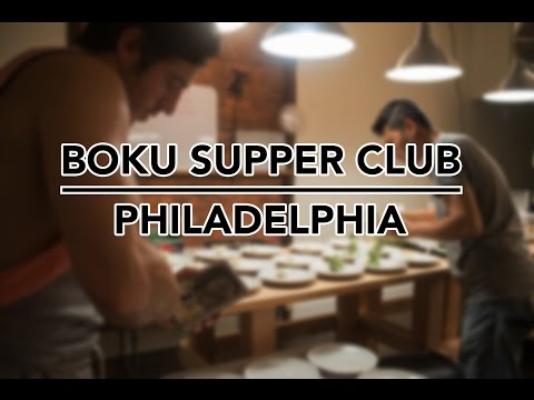 Underground Restaurant: Boku Supper Club