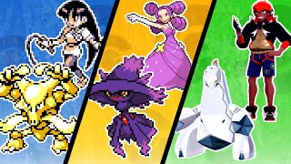 Toughest Gym Leader in Every Pokemon Game