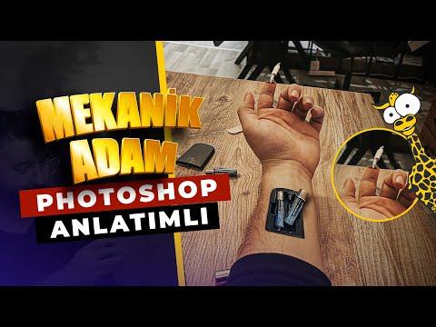 Mekanik Adam - PHOTOSHOP MANİPÜLASYON TUTORİAL FULL / ANLATIMLI (Kurgu Günlükleri #1)