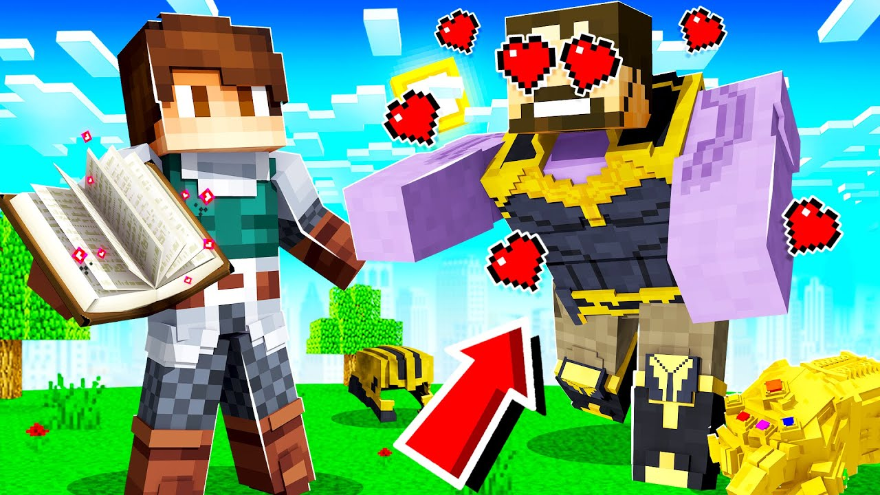USING LOVE MAGIC to STOP THANOS in INSANE CRAFT!