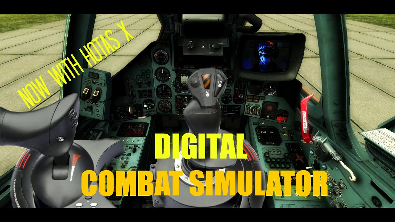 DCS VR - DIGITAL COMBAT SIMULATOR - (OCULUS RIFT DK2) NOW WITH HOTAS X  FLIGHT STICKS, AWESOME !