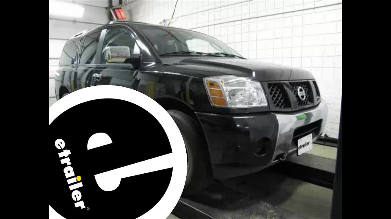 maxresdefault installation of a trailer wiring harness on a 2005 nissan armada  at alyssarenee.co