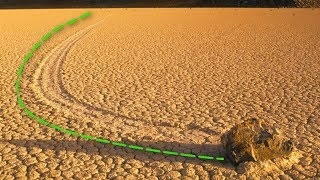 Mysteriöser Stein WANDERT durch die Wüste - bis Wissenschaftler den Grund herausfanden