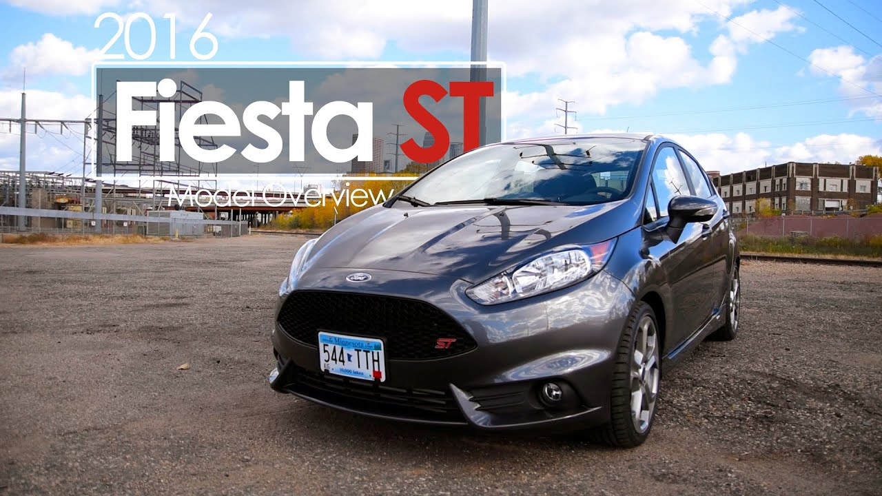 review 2016 ford fiesta st exhaust specs sync3 features youtube. Black Bedroom Furniture Sets. Home Design Ideas