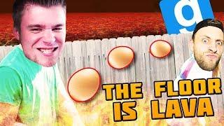 MISTRZ RZUCANIA JAJKAMI!   The Floor is Lava [#2] - Garry's Mod [#749]
